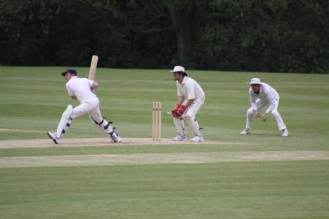 4 - Private Eye batsman in action.JPG