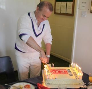 Copy of Ian Hislop cuts the cake.JPG